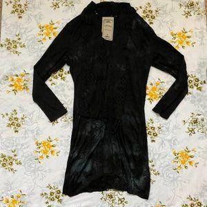 Sweaters - NWOT Long Black Cardigan